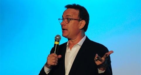 Guest speaker Tom Hanks.
