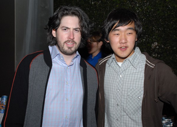 "Jason Reitman with ""A Self-Centered Conversation"" director Daniel Bang."