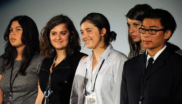 """Cupidity"" director Phoebe Singer, ""The Stand"" actor Xochi Maberry-Gaulke, director Olivia Chuba, actor Anjoum Agrama."