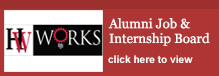 Alumni Job & Internship Board- click here to view