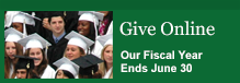 Give Online - Our Fiscal Year Ends June 30