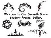 Click to view album: Student Fractal Gallery