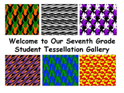 Click to view album: Student Tessellation Gallery