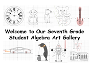 Click to view album: Student Algebra Art Gallery