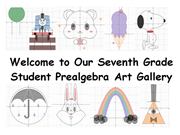 Click to view album: Student Prealgebra Art Gallery