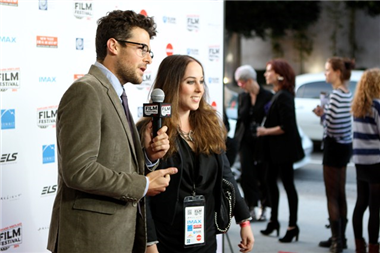 Jacob Soboroff interviews festival founder Liz Yale '04.